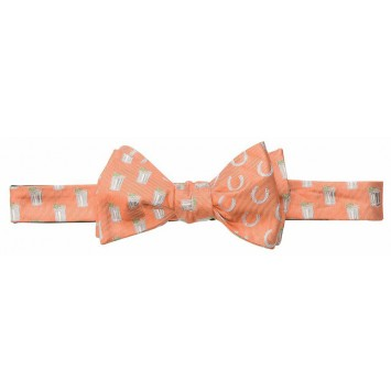 Mint Julep/Horse Shoe Bow - Orange